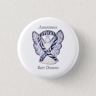 Chapa Redonda De 2,5 Cm Pin raro de la cinta del ángel de la conciencia de