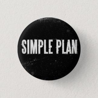Chapa Redonda De 2,5 Cm Plan simple