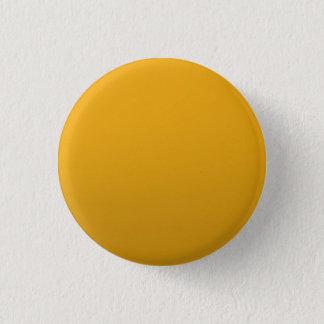 Chapa Redonda De 2,5 Cm PLANTILLA en blanco del oro: Añada el texto,