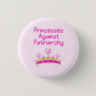 Chapa Redonda De 2,5 Cm Princesas Against Patriarchy