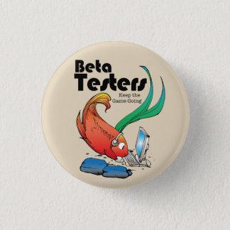 Chapa Redonda De 2,5 Cm Probador de Betta