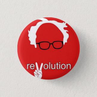 Chapa Redonda De 2,5 Cm Revolución 2016 de las chorreadoras de Bernie