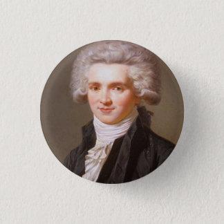 Chapa Redonda De 2,5 Cm Robespierre