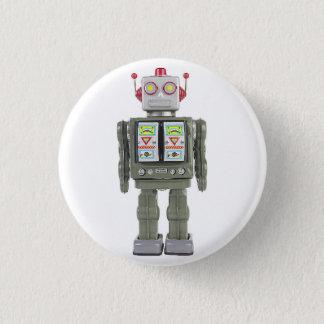Chapa Redonda De 2,5 Cm Robot del juguete