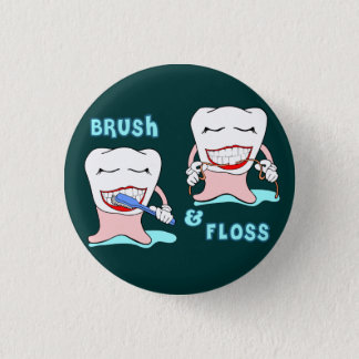 Chapa Redonda De 2,5 Cm Ropa divertida de Prosthodontist