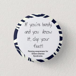 Chapa Redonda De 2,5 Cm Si usted es Bendy y usted lo sabe… (conciencia del
