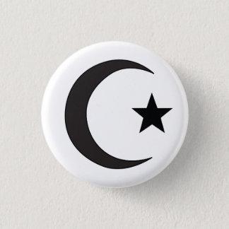Chapa Redonda De 2,5 Cm Símbolo religioso del Islam