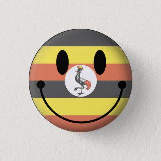 Chapa Redonda De 2,5 Cm Smiley de Uganda