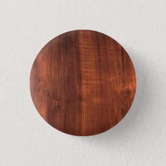 Chapa Redonda De 2,5 Cm Teakwood de madera de la madera de roble del