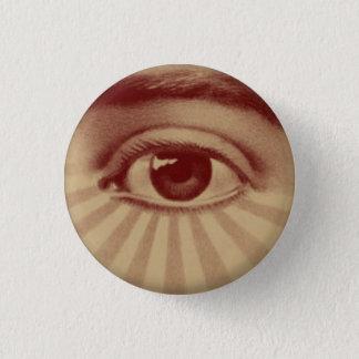 Chapa Redonda De 2,5 Cm Todo el ojo que ve