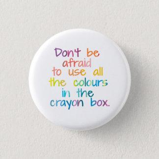 Chapa Redonda De 2,5 Cm Todos los colores en la caja del creyón