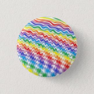 Chapa Redonda De 2,5 Cm Un arco iris rítmico