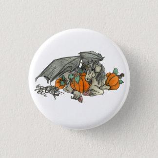 Chapa Redonda De 2,5 Cm Unicornio con alas palo que protege un remiendo de