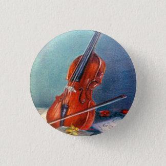 Chapa Redonda De 2,5 Cm Violín/Violin