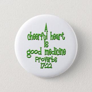 Chapa Redonda De 5 Cm 17:22 de los proverbios