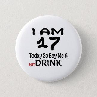 Chapa Redonda De 5 Cm 17 hoy tan cómpreme una bebida