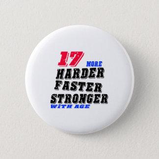 Chapa Redonda De 5 Cm 17 más fuertes más rápidos más duros con edad