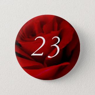 Chapa Redonda De 5 Cm 23ro Cumpleaños