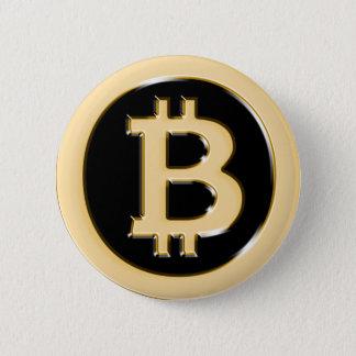 Chapa Redonda De 5 Cm AA568-Bitcoin-Made-of-Gold-symbol