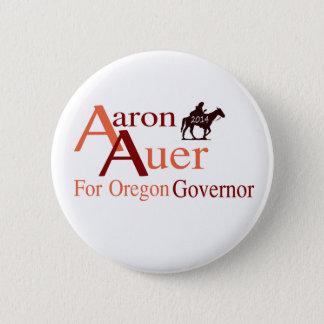 Chapa Redonda De 5 Cm Aaron Auer para el perno del gobernador de Oregon