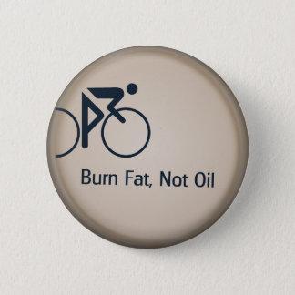 Chapa Redonda De 5 Cm Aceite de la grasa de la quemadura no