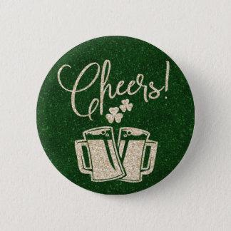 Chapa Redonda De 5 Cm Alegrías del irlandés del día del St Patricks para