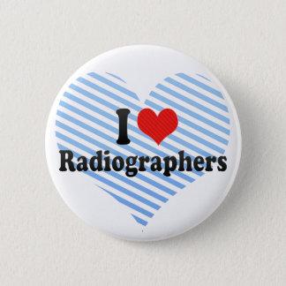 Chapa Redonda De 5 Cm Amo a ayudantes radiólogos
