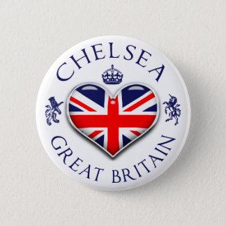 Chapa Redonda De 5 Cm Amo a Chelsea