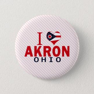Chapa Redonda De 5 Cm Amo Akron, Ohio