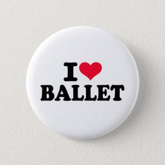 Chapa Redonda De 5 Cm Amo ballet
