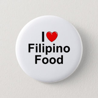 Chapa Redonda De 5 Cm Amo (corazón) la comida filipina