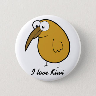 Chapa Redonda De 5 Cm Amo el kiwi