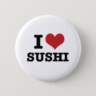 Chapa Redonda De 5 Cm Amo el sushi