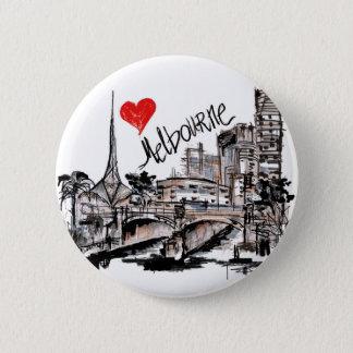 Chapa Redonda De 5 Cm Amo Melbourne