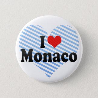 Chapa Redonda De 5 Cm Amo Mónaco