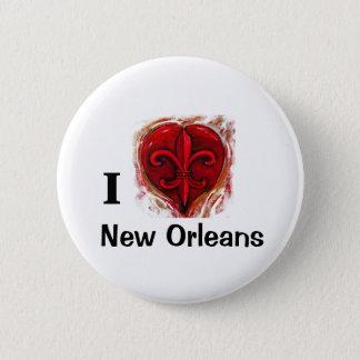 Chapa Redonda De 5 Cm Amo New Orleans