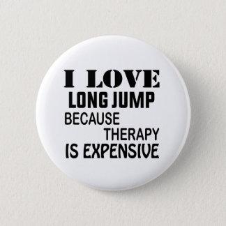 Chapa Redonda De 5 Cm Amo salto de longitud porque la terapia es costosa