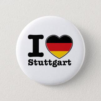 Chapa Redonda De 5 Cm Amo Stuttgart