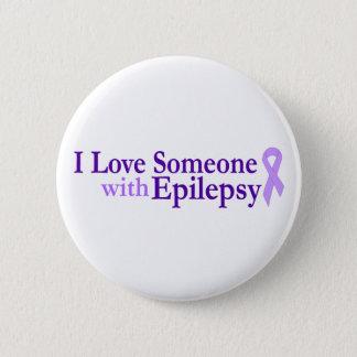 Chapa Redonda De 5 Cm amor de la epilepsia