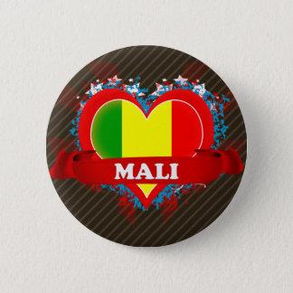 Chapa Redonda De 5 Cm Amor Malí del vintage I