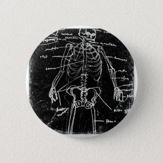 Chapa Redonda De 5 Cm anatomía esquelética humana de Tokio del yaie
