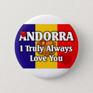 Chapa Redonda De 5 Cm Andorra
