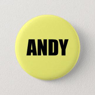 Chapa Redonda De 5 Cm Andy