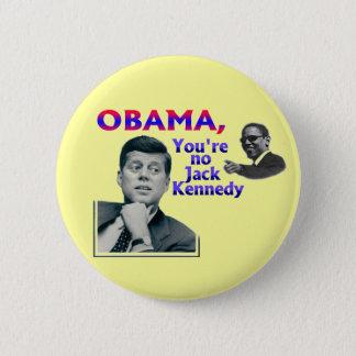 Chapa Redonda De 5 Cm Anti-Obama