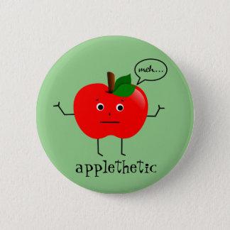Chapa Redonda De 5 Cm Applethetic