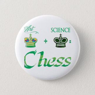 Chapa Redonda De 5 Cm art+science=Chess