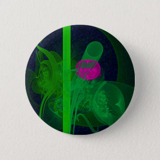Chapa Redonda De 5 Cm Arte abstracto de pasillo de reunión del Faery del