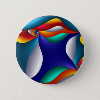 Chapa Redonda De 5 Cm Arte de la seta, moderno y contemporáneo