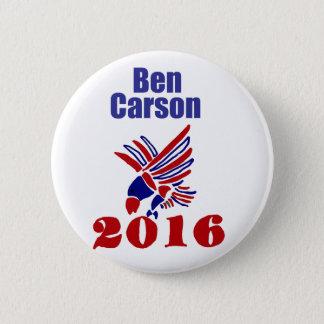 Chapa Redonda De 5 Cm Arte político presidencial de Ben Carson
