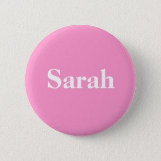 Chapa Redonda De 5 Cm Ayuda para Sarah Palin indicado simplemente